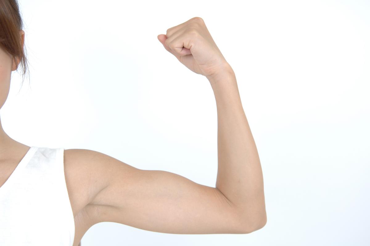 タプタプを卒業したい!二の腕の部分痩せはできる?