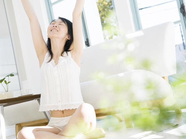 腹式呼吸でお腹の部分痩せ&基礎代謝がUP!?