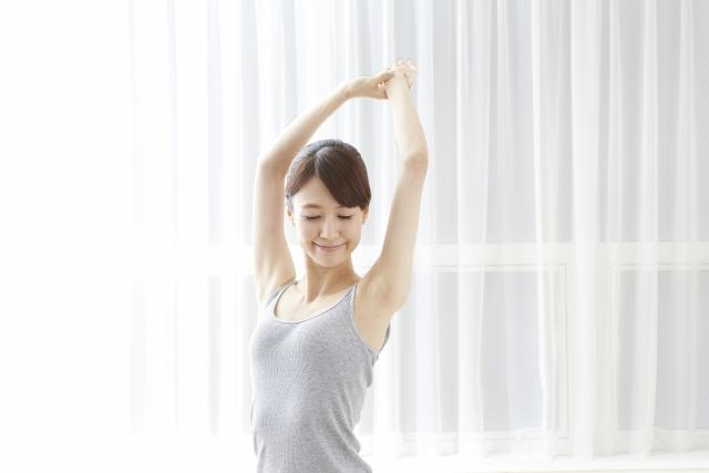 二の腕や肩の肉を集中的に落とす方法5選!